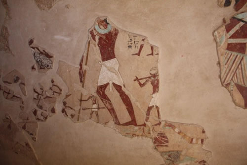 Ankhtifi and the wall painting depicting boating