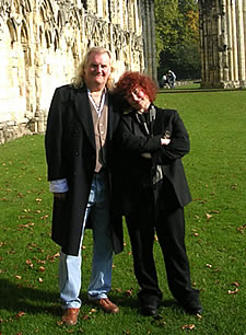 Alan Fildes and Dr Joann Fletcher