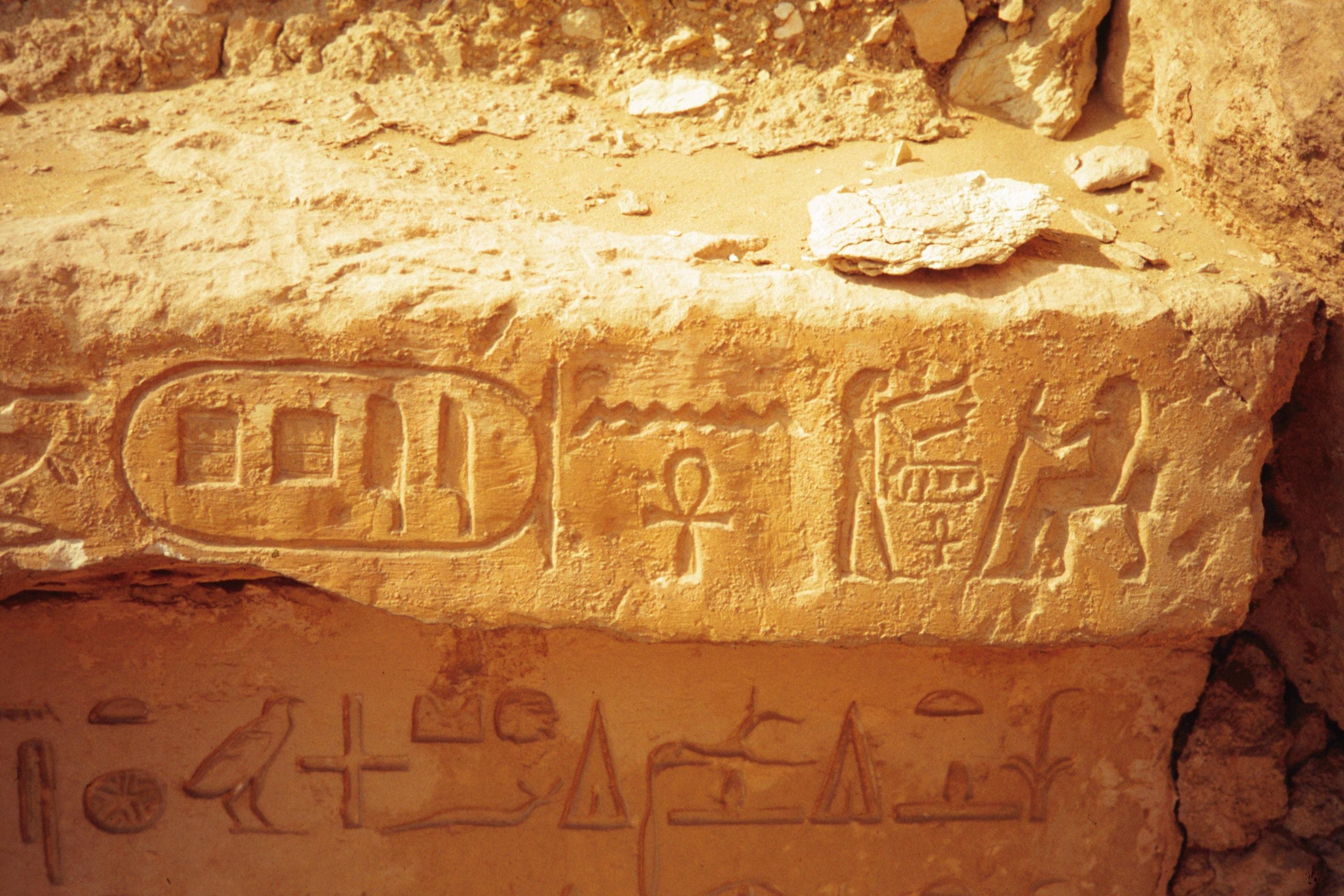 Niankhpepy at Saqqara.