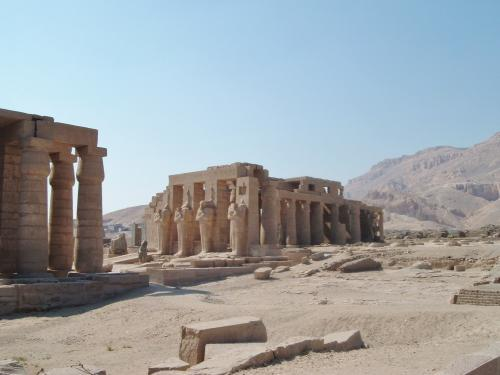 The Mortuary Temple of Ramases II.