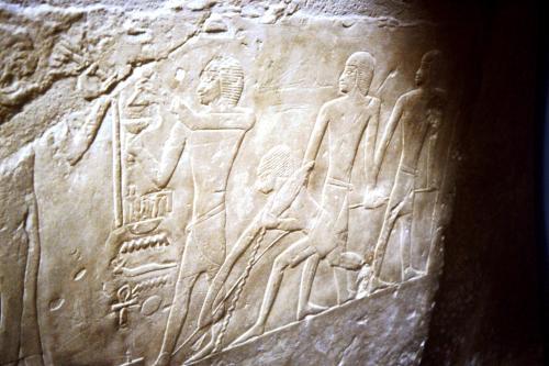 Funerary scene.