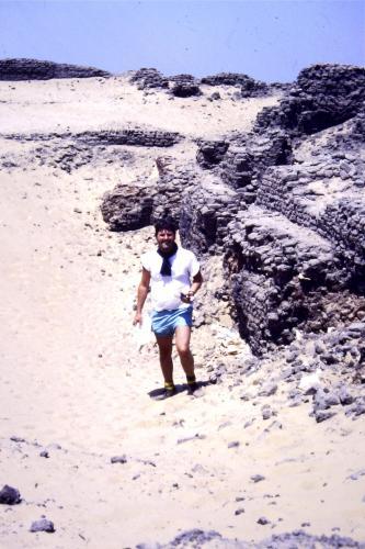 Saqqara in 1987,