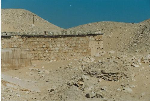 The Mastaba of Khentika called Ikhekhi in 1991,